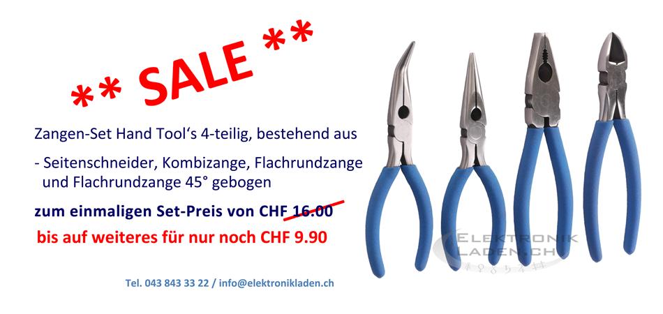 SALE - Zangen-Set Hand Tool's